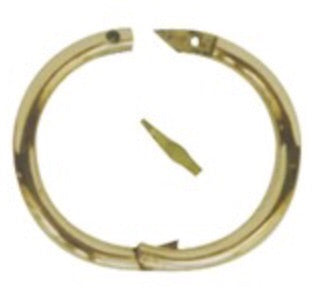 Bull Nose Ring Brass