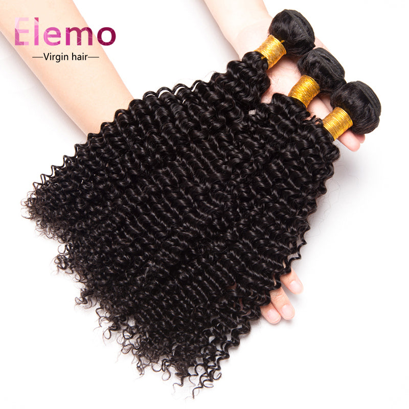 Brazilian Kinky Curly Virgin Hair Bundles 4PCS/Lot