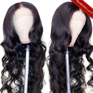 loose wave closure wig