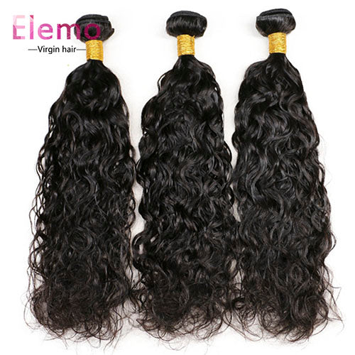 Malaysian Water Wave Hair 3 Bundles/lot