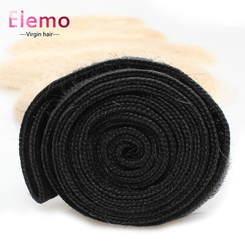 Elemo 1PCS T1B/613# Blonde Body Wave Hair Bundles