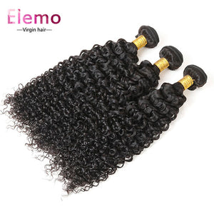 Peruvian Jerry Curl Virgin Hair Bundles 3PCS/Lot