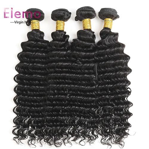 All Texture Brazilian Human Hair 4 Bundles/Lot