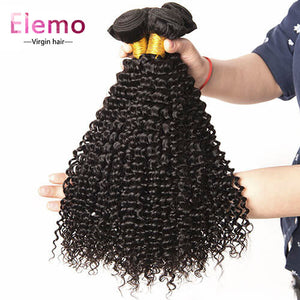 Malaysian Kinky Curly Human Hair Bundle