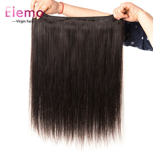 Brazilian Straight Virgin Hair Bundles 4PCS/Lot