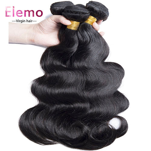 Malaysian Body Wave Hair Bundles 4PCS/Lot