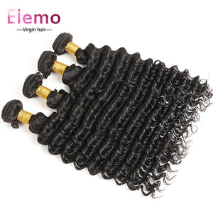 Peruvian Deep Wave Virgin Hair Bundles 4PCS/Lot