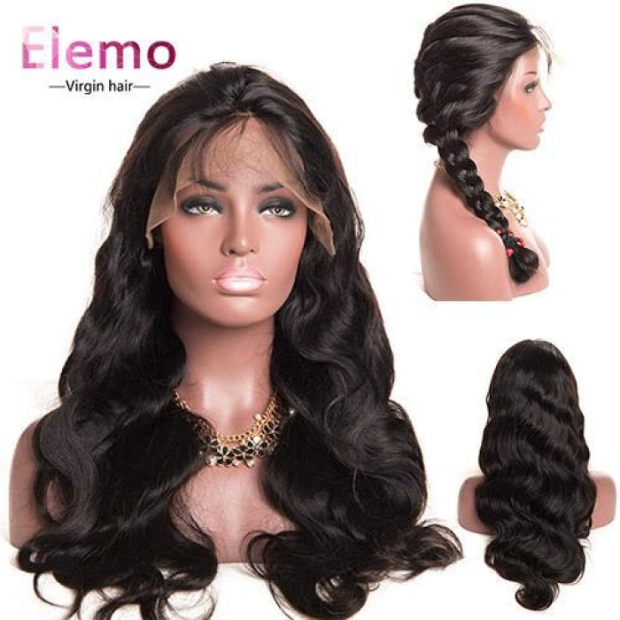 250% Density Virgin Hair 360 Lace Frontal Wig