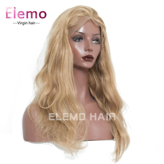 #27 Color Body Wave Lace Front Wigs With Baby Hair