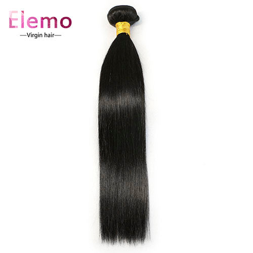 Malaysian Straight Virgin Hair Bundle 1PCS