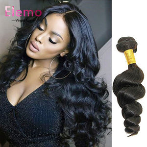 Indian Loose Wave Hair 3 Bundles/Lot