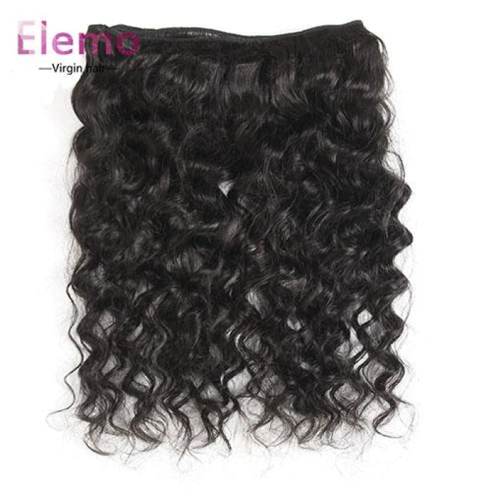 360 Lace Frontal With 3 Bundles Loose Wave Brazilian Virgin Hair