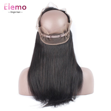Straight 360 Lace Frontal 100% Human Hair