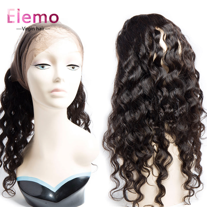 10-20 Inch Water Wave 360 Lace Frontal