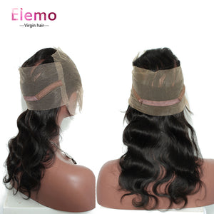 360 Lace Frontal Body Wave Human Hair