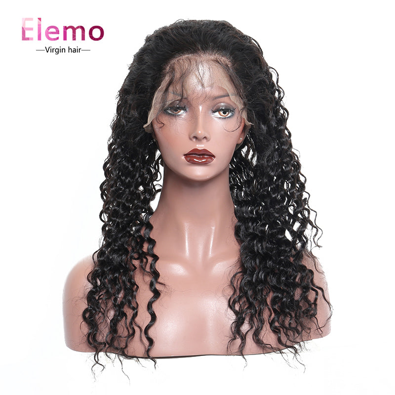 Deep Wave 360 Lace Frontal 100% Human Hair