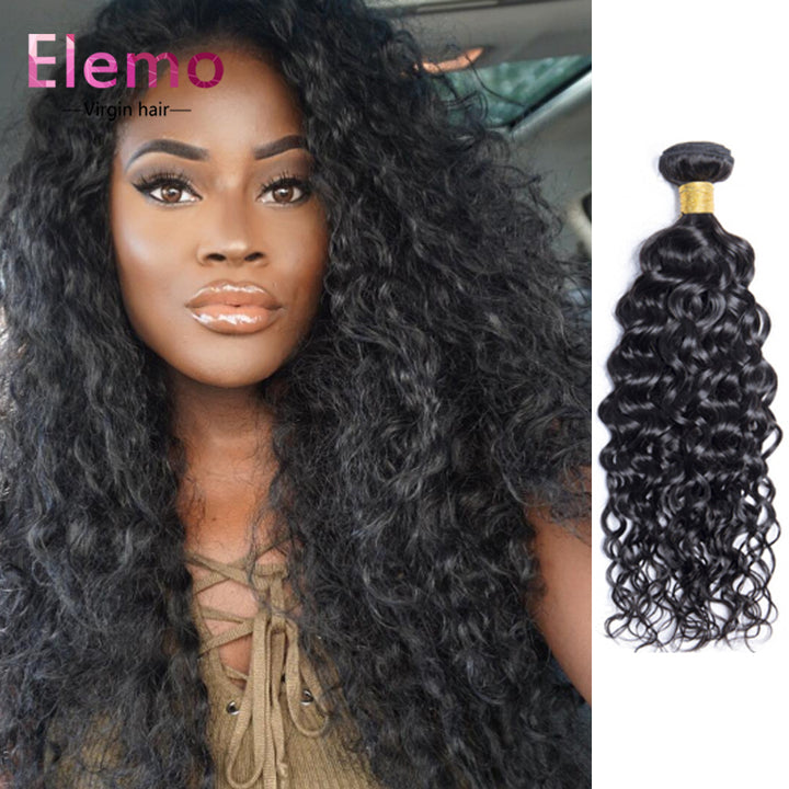 Malaysian Water Wave Hair Bundles 1PCS