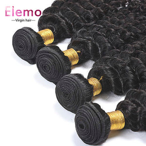 Malaysian Deep Wave Virgin Hair 1PCS