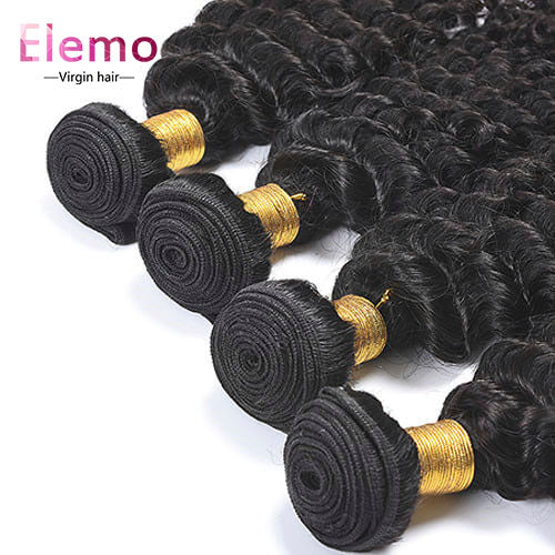 Brazilian Deep Wave Human Hair Bundles 1PCS