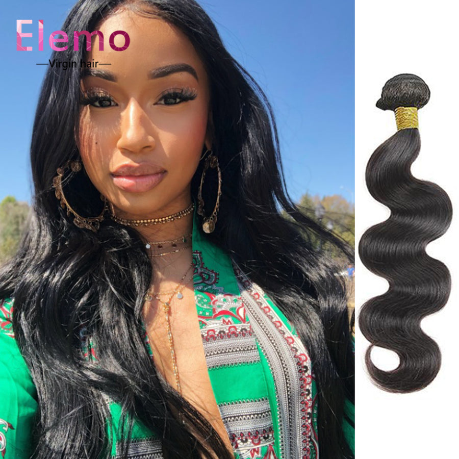 Indian Body Wave Hair Bundles 1PCS