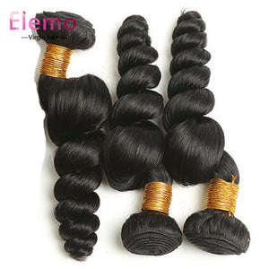 Indian Loose Wave Hair Bundle 1PCS