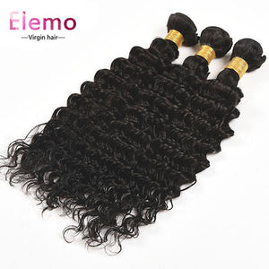 Deep Wave 360 Lace Frontal with 2 Bundles