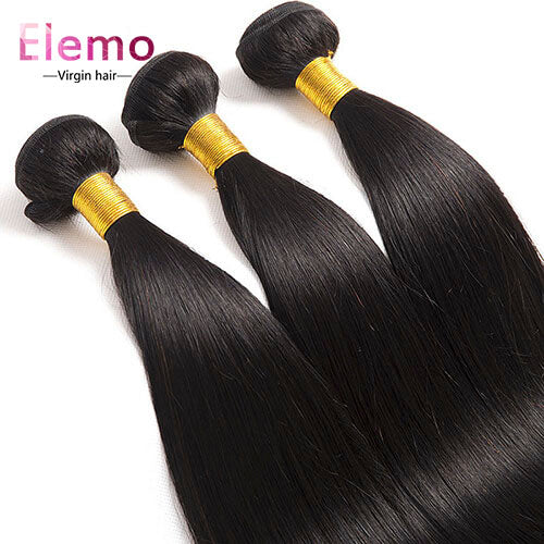 Peruvian Straight Human Hair Bundles 3PCS/Lot
