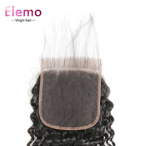 Deep Wave 6×6 Lace Closure Free Part Human Hair Closure With Baby Hair