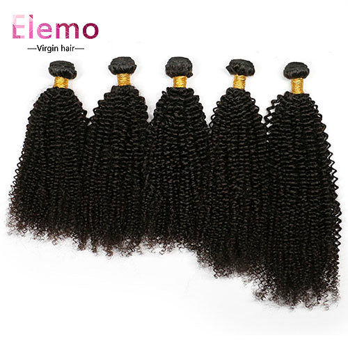 Malaysian Kinky Curly Hair 3 Bundles/lot