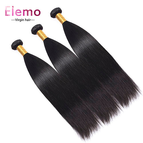 Brazilian Straight Virgin Hair Bundles 3PCS/Lot