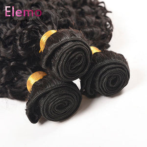 Jerry Curl 3 Bundles/Lot Indian Hair