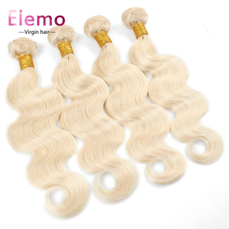 Elemo Body Wave 613 Blonde Human Virgin 4 PCS