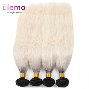 T1B/613# Blonde Straight Hair 4Bundles/lot