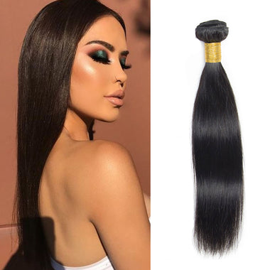 Peruvian Straight Virgin Hair Bundles 1PCS