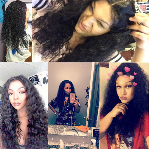 Indian Water Wave Hair 3 Bundles/Lot