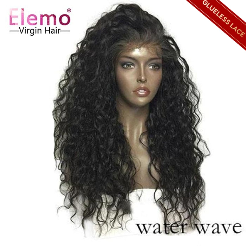 wate wave lace closure wigs human hair wig