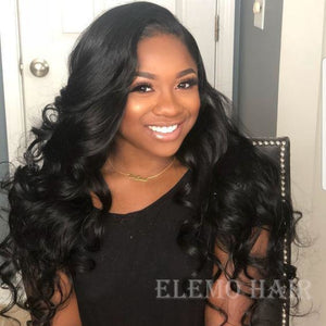 All Textures Brazilian Hair 3 Bundles+Frontal Virgin