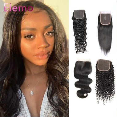 All Textures Peruvian Hair 3 Bundles+Closure Virgin