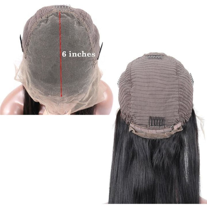 Bleached Knots 13X6 Deep Part Short Bob Lace Front Wigs