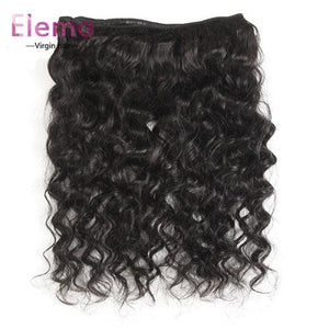 Brazilian Loose Wave Lace Frontal With 3 Bundles Virgin Hair