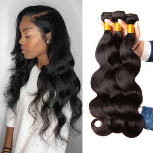 Brazilian Body Wave Hair Bundles 3PCS/Lot