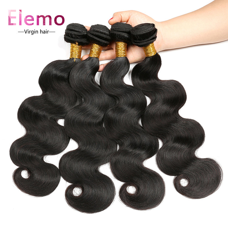 Peruvian Body Wave Human Hair Bundles 1PCS
