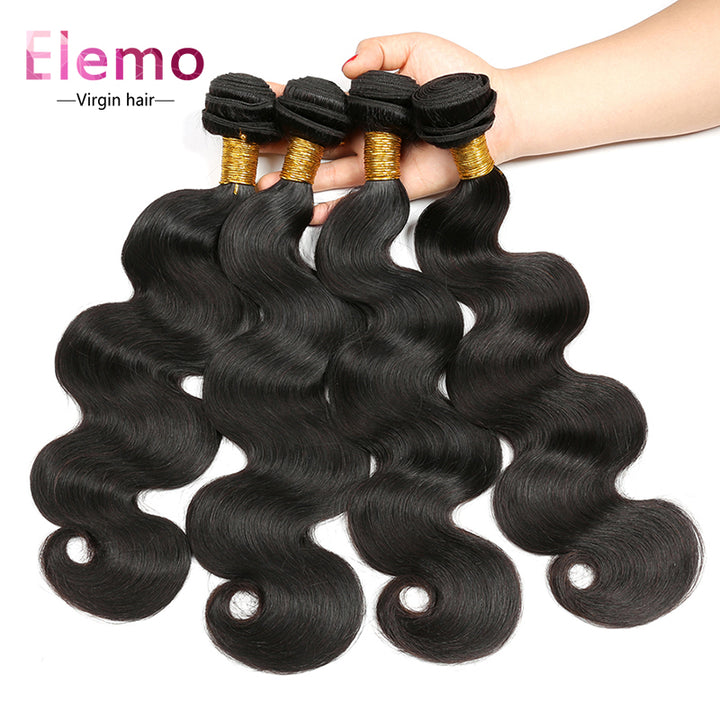 Peruvian Body Wave Hair Bundles 4PCS/Lot