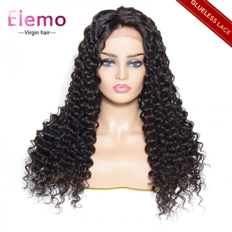 deep wace closure wig