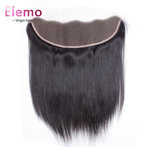 Straight Human Hair 13×4 Lace Frontal