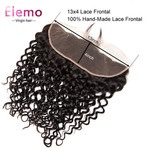 Pre Plucked 13×4 Lace Frontal Water Wave Human Hair