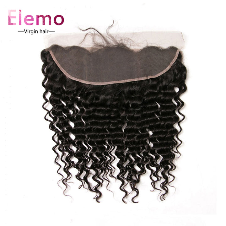 13×4 Lace Frontal Deep Wave Human Hair