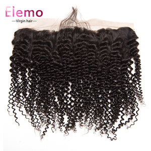 Kinky Curly Human Hair 13×4 Lace Frontal