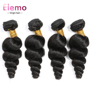 Peruvian Loose Wave Hair 3 Bundles/Lot