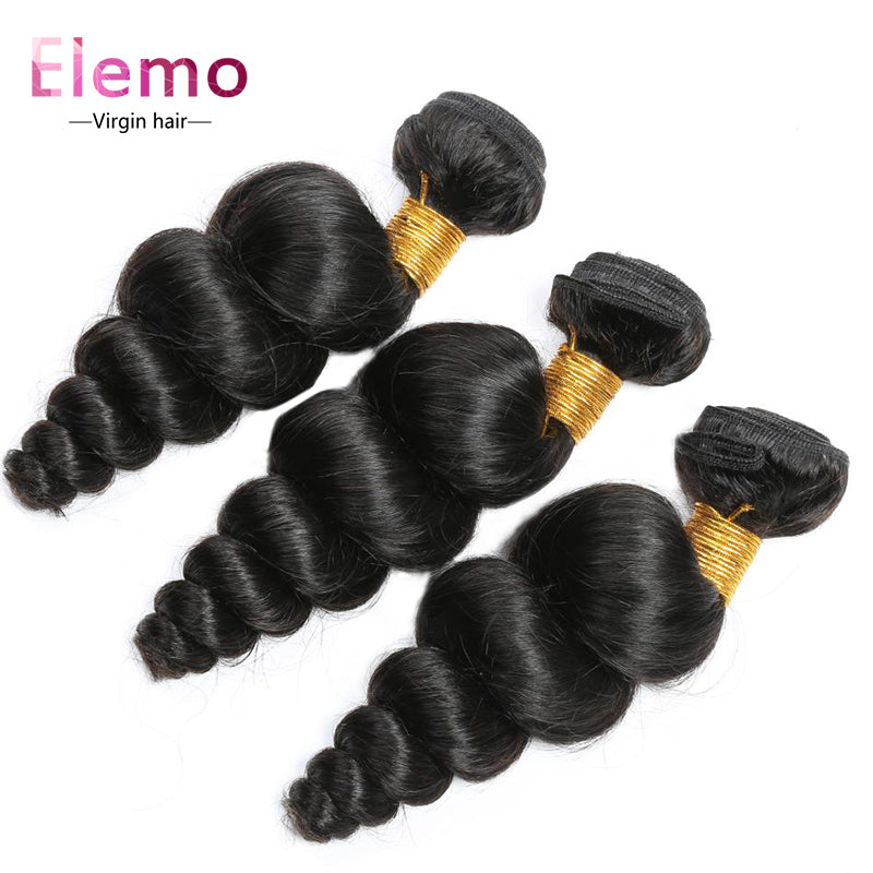 Brazilian Loose Wave Virgin Hair Bundle 1Pcs